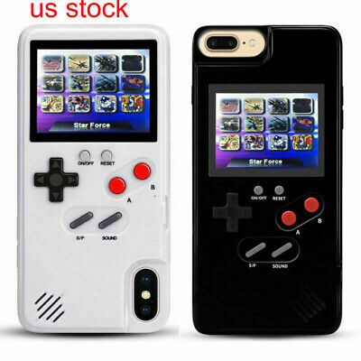 Hot Retro Color Screen Game Play Tetris Phone Case For iPhone X XS 6s 7 8Plus US