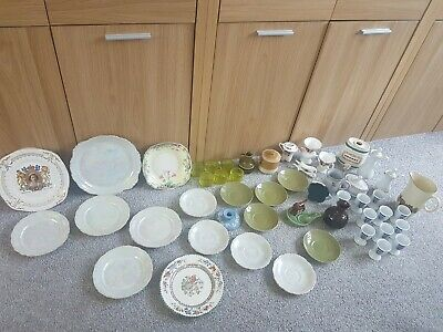Large bundle/job lot collectable pottery & ceramics inc Wedgewood, Wade, Denby