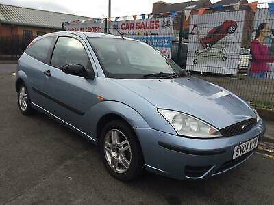 FORD FOCUS 1.6i 16v 2004 EDGE *MOT TILL 04/2020 *3 KEYS *HPI CLEAR *OPEN 7 DAYS