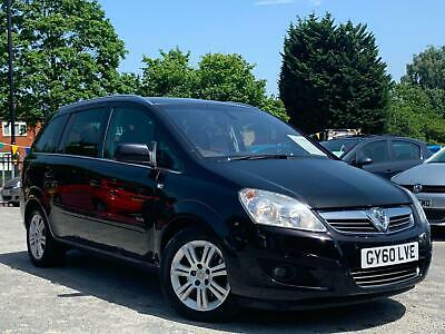 2010 VAUXHALL ZAFIRA 1.9 CDTi ELITE 7 SEATER, WOW ONLY 72K MILES + 12 MONTHS MOT
