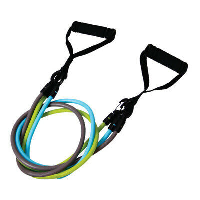 Resistance Bands Fitness Loop Ropes Tubes Pull Up Set Gym Equipment Exercis P9S5