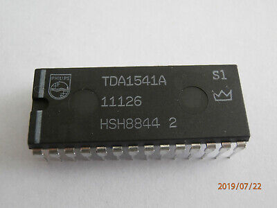 Genuine Rare Philips TDA1541A-S1 single crown DAC chip IC for CD Players