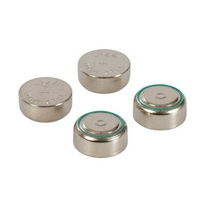 4x Powermaster Alkaline Small Button Cell Battery Batteries LR44 A76 AG13 1.5V
