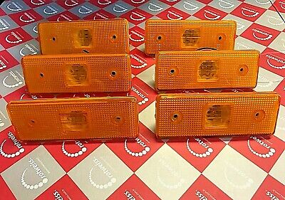 6 x LED MERCEDES SPRINTER VW LT SIDE MARKER LIGHTS LAMPS AMBER ORANGE 1995-2006