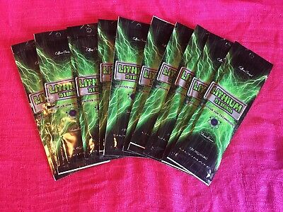 Rare Ultimate Lithium 75X Bronzer Tanning Lotion 100% Auth 9 PKT LOT 1 Lot Avail