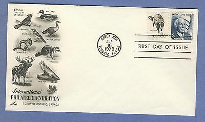 1978 Capex Sta Toronto, Canada FDC ArtCraft International Philatelic Racoon