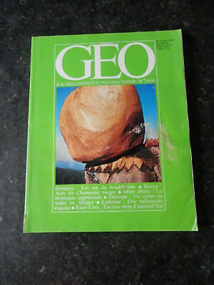 Géo magazine - N°2 - Avril 1979