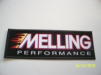 "ORIGINAL   DECALS  ""  MELLING  Performance    ""   2.50 "" x  7.50 """