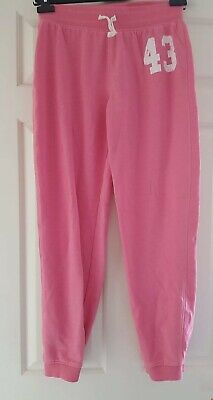 Girls pink jogging bottoms - Next - Age 14 years Height 164cm