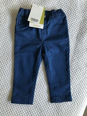 BNWT Mamas And Papas Baby Boy Jeans Blue 9-12 Months