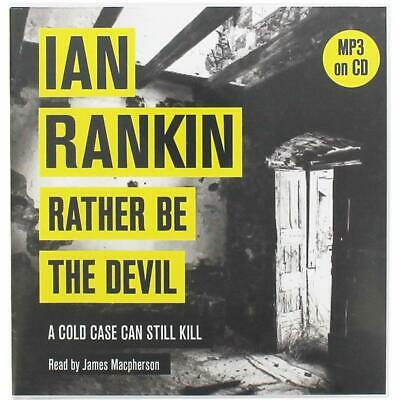 Rather be The Devil by Ian Rankin MP3 on 2 x CD Audio Book John Rebus