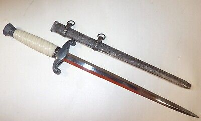 Wwii Us Army Usaaf Officer's German Occupation Letter Opener In Mint Condition