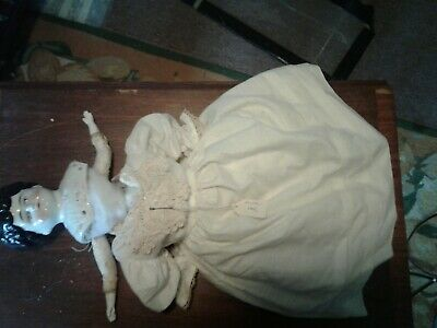 """Antique German Early 20th century China head doll Dorothy 20"""""""