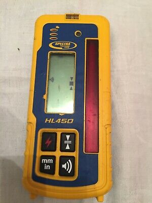 Spectra HL450 Digital mm Readout Detector For Laser Level