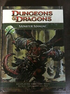D&D Monster Manual: 4th Edition