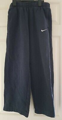 Girls navy blue jogging bottoms - Nike - Age 13-15 years XL