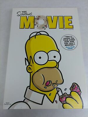 The Simpsons Movie Full Screen Dvd 2007 024543484387 5 99 Picclick