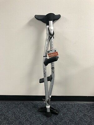 """New MobiLegs Universal Crutches Adjustable 4'9""""- 6'4"""" up to 300lbs Mobi Legs"""