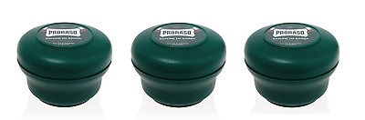 Proraso Shaving Soap In A Bowl - Refresh & Toning, 5.2 Oz (Pack of 3)