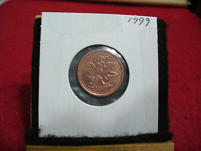 1999   Canada  1  Cent Coin  Penny  Proof Like  99  High   Grade  Sealed