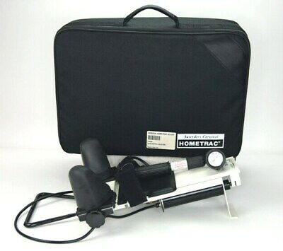 Saunders Cervical Traction Hometrac Deluxe Model 100399 Head and Neck W/Case
