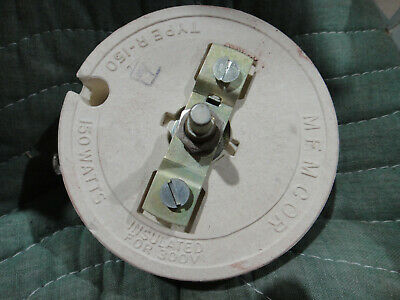 Memcor type R-150 150W power Rheostat estate find as seen untested?
