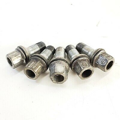 Audi A4 S4 A5 S5 RS5 A6 S6 A7 S7 B8 B9 C6 C7 Ball Seat Wheel Lug Bolt *Set of 5