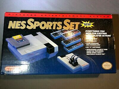 Nintendo NES Sports Set System Console Brand New In Box