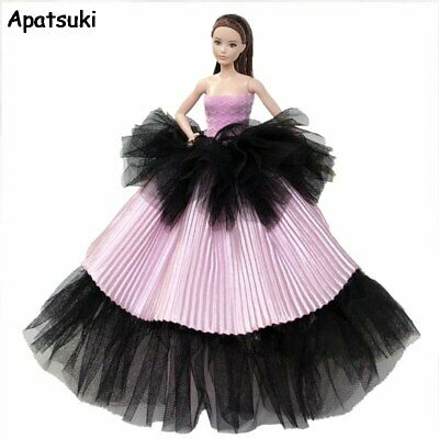 Fashion Wedding Dress for Barbie Doll Outfits Clothes Evening Dresses Party Gown