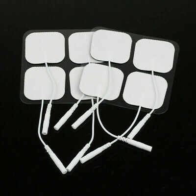 2/10Pcs Replacement Tens Machine Electrode Pads Gel Units Therapy Massager 4*4cm