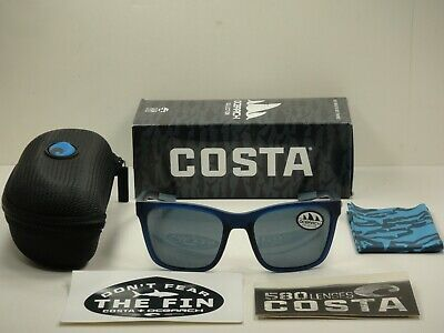 Costa Del Mar PANGA Matte Gray Tortoise with Gray Sil Mirror Lens PAG 256 OSGP