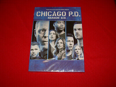 The Complete Sixth Season 6 Six Sealed New CHICAGO P.D. PD DVD Disc Set