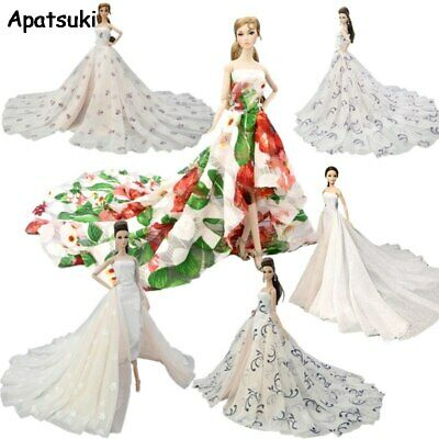 Doll Clothes For Barbie Doll Outfits Wedding Dress Evening Dresses Party Gown