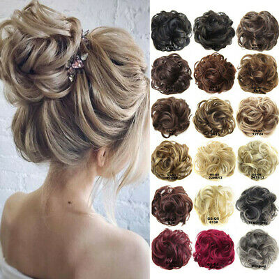 Bandeau Chouchou Cheveux Salissant Chignon Queue Cheval Updo Extension Désordre