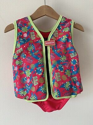 Girls Speedo Float Jacket Bouency Aid Swimming Armbands Age 2-3