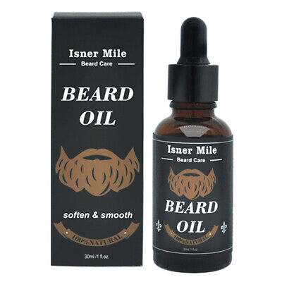 Men's Non Greasy Beard Oil Mustache Growth Thicker Conditioner Softener Mystic