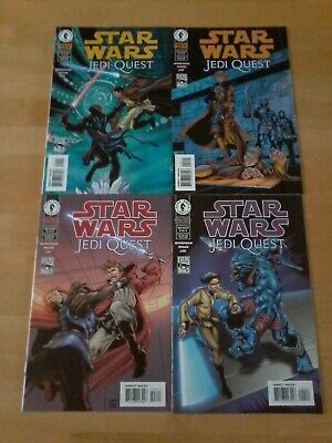 Star Wars (Dark Horse Comics) Jedi Quest #1 - #4