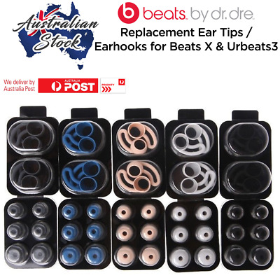 Original Replacement Ear Tips / Ear Hooks for Beats X and urBeats3 earphones