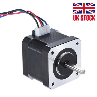 Nema 17 1.8° Stepper Motor Drive Control for 3D Printer DIY 42mm 0.4N.M 1PC S0A9