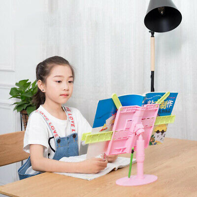 Children Adjustable Angle Foldable Lift Type Portable Reading Book Stand Holder