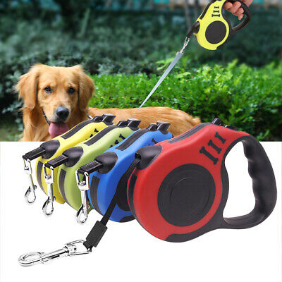Automatic Dog Leash Flexible Retractable Puppy Rope Collar Small Medium Dogs