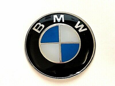 Bmw Logo 55Mm  Self Adhesive  Badge, Uv Lacquered,Free Uk P&P, U.k Seller.