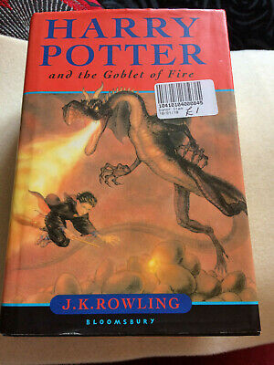 Harry Potter & the Goblet of Fire - Hardback - Preowned