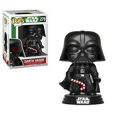 Pop! Star Wars #279 Holiday Darth Vader (Candy Cane) Funko Vinyl Bobble-head