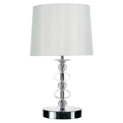 Lark 56cm Table Lamp Polished Chrome
