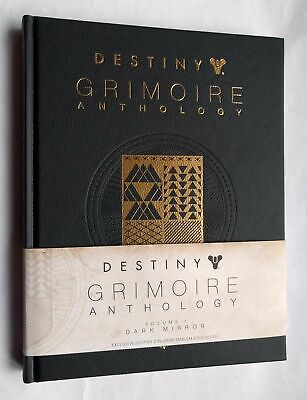 Destiny Grimoire Anthology - Dark Mirror Hard cover book only NO code.