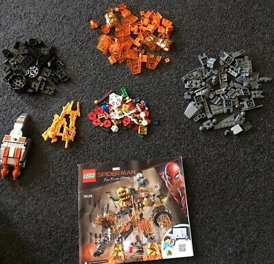 Lego Marvel Spiderman Far From Home - Incomplete