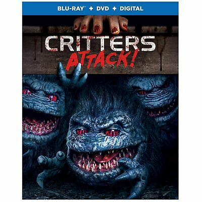 CRITTERS ATTACK ON  BLURAY DIGITAL dvd