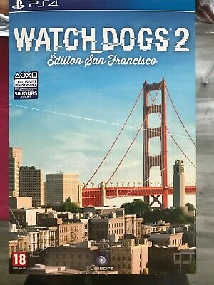Watch dog 2  collector san francisco édition PS4