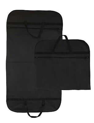 Hoesh 44 Inch Black Waterproof Travel Suit Carrier Carry Garment Cover Protector